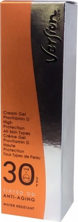 VERSION Tinted DD SPF30 Αντηλιακή κρέμα προσώπου με ΧΡΩΜΑ 50ml