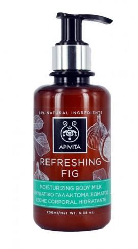 APIVITA Refreshing Fig Ενυδατικό Γαλάκτωμα Σώματος με Σύκο, 200ml