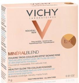 VICHY MineralBlend Healthy Glow Tri-Color Powder Tan, 9gr