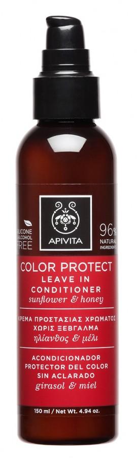 APIVITA Leave In Conditioner για Προστασία Χρώματος με Ηλίανθο και Μέλι, 150ml