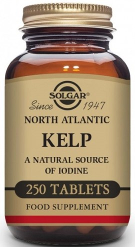 SOLGAR Kelp 200μg, 250Tabs