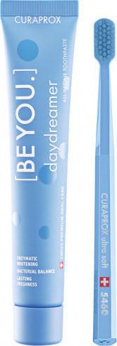 CURAPROX, Be You Daydreamer Οδοντόκρεμα Βατόμουρο & Γλυκόριζα  90ml & Οδοντόβουρτσα CS 5460 Σε Γαλάζιο Χρώμα, 1 Τεμάχιο