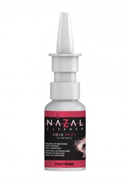 FREZYDERM Nazal Cleaner Cold Spicy, Σπρέυ Ρινικής Αποσυμφόρησης με αίσθηση καψίματος, 30ml