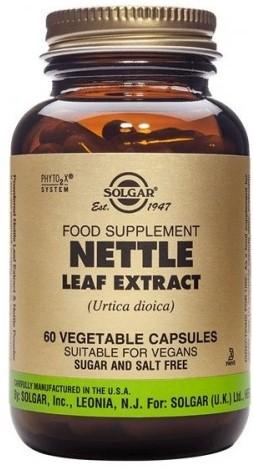 SOLGAR Nettle Leaf Extract, 60Veg.Caps