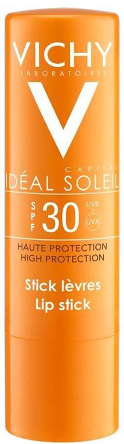 VICHY Ideal Soleil Lip Stick SPF30 Αντηλιακό Στικ Χειλιών, 4.7ml