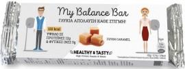 POWER HEALTH My Balance Bar, Μπάρα - Υποκατάστατο Γεύματος Πλούσια σε Πρωτεΐνες με Γεύση Καραμέλα, 35gr