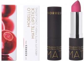 KORRES Morello Lipstick Matte NO75 Strawberry Fields, 3.5gr