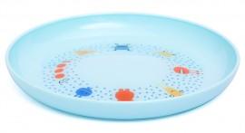 SUAVINEX Βοοο! Παιδικό πιάτο (ρηχό) Για Μωρά +4Μ Άθραυστο,  Χρώμα Μπλε code 1030653