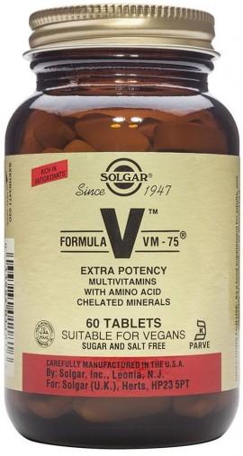 SOLGAR Formula VM 75, 60Tabs