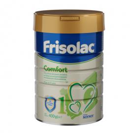 Frisolac Comfort 1 Ειδικό Γάλα για βρέφη από 0 έως 6 μηνών με γαστροοισοφαγική παλινδρόμηση ή δυσκοιλιότητα 400gr