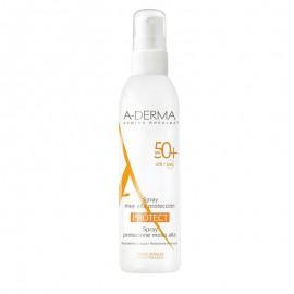 A-DERMA,  Protect Spray  SPF50+,  Αντηλιακό Σπρέι Πολύ Υψηλής Προστασίας, 200ml