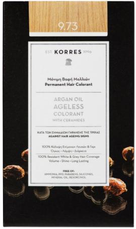 KORRES Argan Oil Colorant NO9.73 Golden Chestnut, 50ml