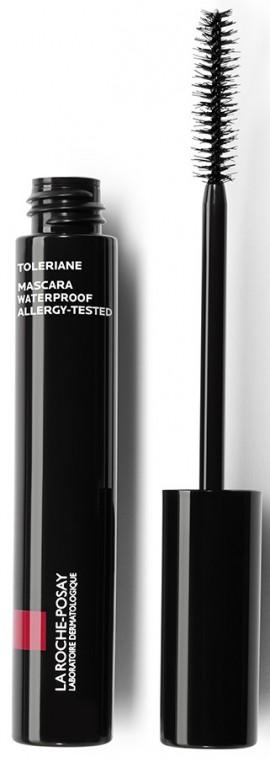 LA ROCHE-POSAY Toleriane Mascara Waterproof Black Αδιάβροχη Μάσκαρα για Ισχυρό Κράτημα και Όγκο,  2ml