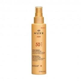 NUXE Sun Melting Spray High Protection SPF50, Αντηλιακό Γαλάκτωμα για Πρόσωπο & Σώμα, 150ml