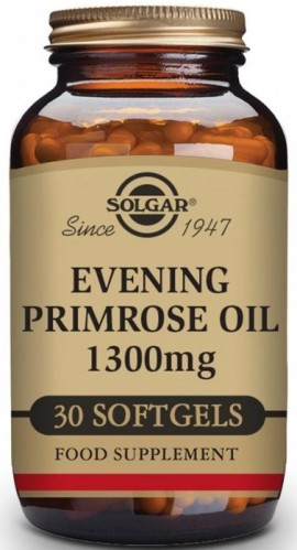 SOLGAR Evening Primrose Oil 1300mg, 30Softgels