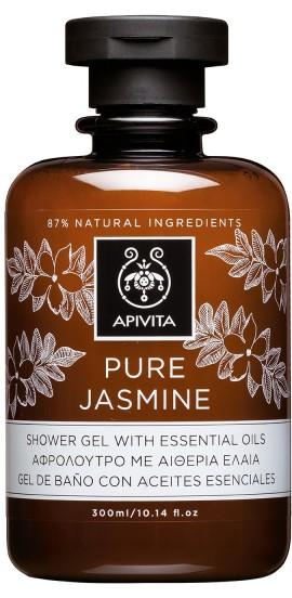 APIVITA Pure Jasmine Αφρόλουτρο με Γιασεμί, 300ml