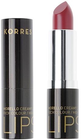 KORRES Morello Creamy Lipstick NO56 Lush Cherry Κρεμώδες Κραγιόν, 3.5gr