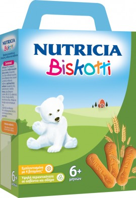 Nutricia Biskotti βρεφικά μπισκότα από τον 6ο μήνα 180gr