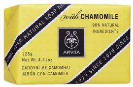 APIVITA Φυσικό Σαπούνι με Χαμομήλι, 125gr