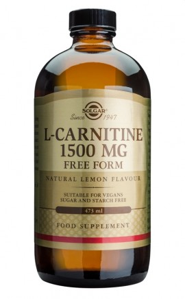 SOLGAR L CARNITINE 1500MG LIQUID 473ML