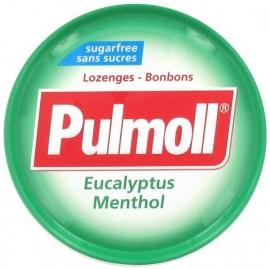 PULMOLL Καραμέλες Χωρίς Ζάχαρη με Ευκάλυπτο, 45gr