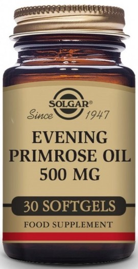 SOLGAR Evening Primrose Oil 500mg, 30Softgels