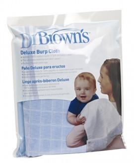 DR.BROWNS Deluxe Burp Cloth Προστατευτικό πανί ώμου Χρώμα Μπλε (1 τεμάχιο) code 916-GB