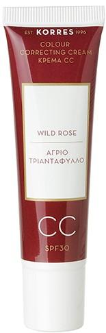 KORRES Άγριο Τριαντάφυλλο Colour Correcting Cream SPF30 Κρέμα CC Light, 30ml