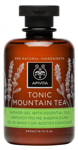 APIVITA Tonic Mountain Tea Αφρόλουτρο με Ελληνικό Τσάι του βουνού, 300ml