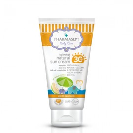 PHARMASEPT Baby Natural Sun Cream SPF30,  Αντηλιακή κρέμα με 100% φυσικά φίλτρα, 100ml