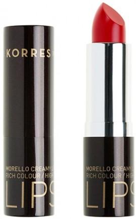 KORRES Matte Lipstick NO54 Classic Red Ματ Kραγιόν με Kρεμώδη υφή, 3.5gr
