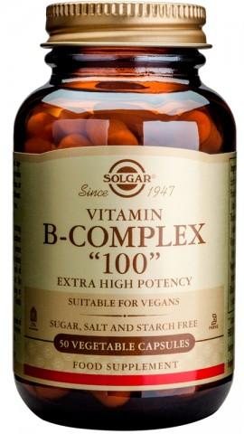 SOLGAR B 100 COMPLEX 50VCAP