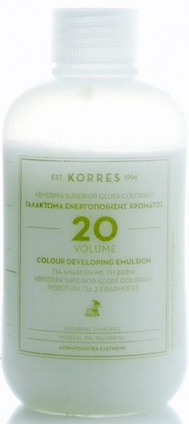 KORRES Abyssinia Superior Gloss Colorant Γαλάκτωμα Ενεργοποιήσης Χρώματος Vol 20, 150ml