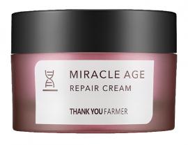 THANK YOU FARMER Miracle Age Repair Cream Κρέμα Θρέψης και Επανόρθωσης Πλούσιας Υφής, 50ml