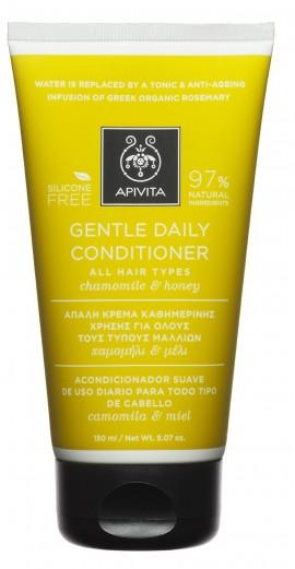 APIVITA Κρέμα Καθημερινής Χρήσης για Όλους τους Τύπους Μαλλιών με Χαμομήλι & Μέλι, 150ml