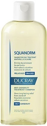 DUCRAY, Squanorm Shampoo Pellicules Grasses, Σαμπουάν κατά της Λιπαρής Πιτυρίδας, 200ml