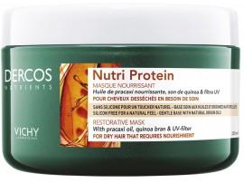 VICHY Dercos Nutri Protein Mask Μάσκα για Ξηρά Μαλλιά, 250ml
