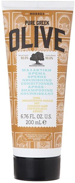 KORRES Μαλακτική Κρέμα Θρέψης για Ξηρά/Αφυδατωμένα Μαλλιά με Ελιά, 200ml