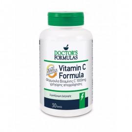 Doctors Formulas Vitamin C Formula Fast Action Φόρμουλα Βιταμίνης C Γρήγορης Απορρόφησης 1000mg 30 δισκία