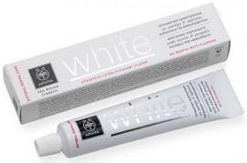 APIVITA Οδοντόκρεμα White με Μαστίχα & Πρόπολη, 75ml