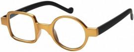 Omnia Vision Γυαλιά Πρεσβυωπίας με κοκκάλινο σκελετο code: RG-223A gold ( 1 τμχ)