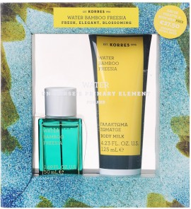 KORRES Σετ Water Baboo Freesia Eau De Toilette & Δώρο Water Baboo Freesia Γαλάκτωμα Σώματος, 50ml & 125ml