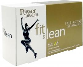 POWER HEALTH Fit & Lean Συμπλήρωμα Διατροφής για τις Μεταβολικές Διεργασίες του Οργανισμού, 60Caps