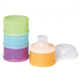 SUAVINEX Θήκη 4 δόσεων σκόνης βρεφικού Γάλακτος με εξάρτημα εύκολου γεμίσματος μπιμπερό (1τεμάχιο) code 103165592