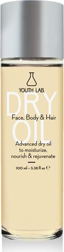 YOUTH LAB Dry Oil Face,Body & Hair (All Skin Types) Ενυδατικό, Θρεπτικό & Αναζωογονητικό Ξηρό Λάδι για Πρόσωπο, Σώμα & Μαλλιά, 100ml