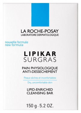 LA ROCHE-POSAY Lipikar Pain Surgras Καθαριστικό για Πρόσωπο και Σώμα σε Συμπαγή Μορφή, 150ml