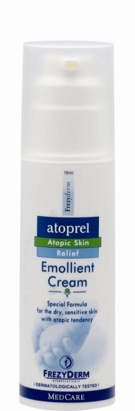 FREZYDERM Atoprel Emollient Cream, Μαλακτική Κρέμα για ξηρό με ατοπική διάθεση δέρμα, 150ml