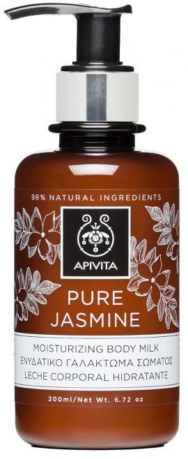 APIVITA Pure Jasmine Ενυδατικό Γαλάκτωμα Σώματος με Γιασεμί, 200ml
