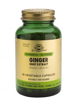 SOLGAR Ginger Root Extract, 60Veg.Caps