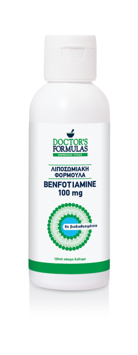 Doctors Formulas Benfotiamine 100mg 120ml